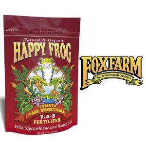 Foxfarm Happy Frog Tomato And Vegetable Fertilizer 4 400 x 300