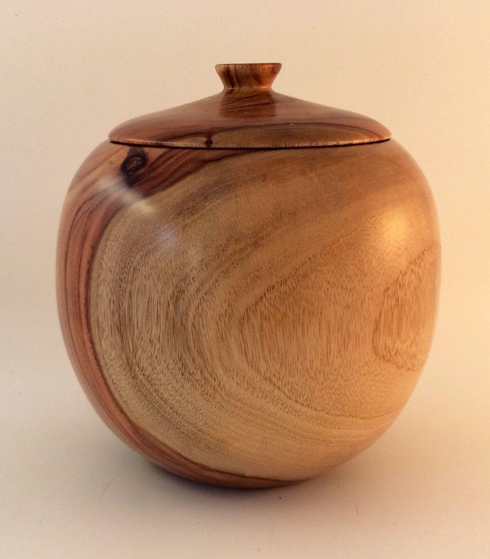 Wooden Cremation urn, Australian Camphor Laurel wood