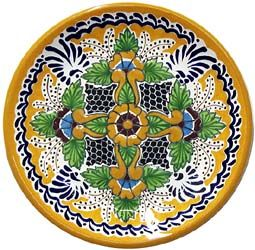 SAVE 20% ON YOUR TALAVERA PLACE SETTING ORDER !! ♥️♣️♣️Talavera Mexican Pottery : More At FOSTERGINGER @ Pinterest 🔷🔹♣️