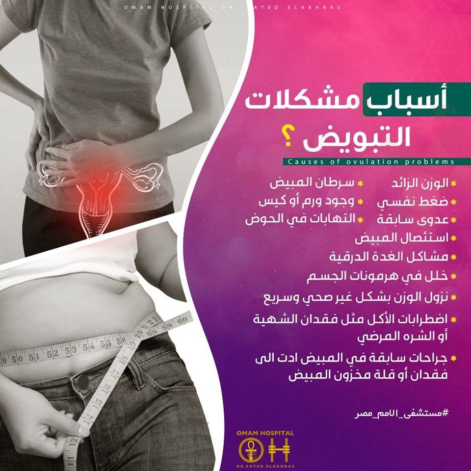 سبب رئيسي من أسباب تأخر الحمل هي وجود مشاكل فى التبويض ودلقتى هنتعرف على أسبابها أسباب مشكلات التبويض خلل في هرمونات الجسم وجود ورم أو كيس جراحات سابقة ف