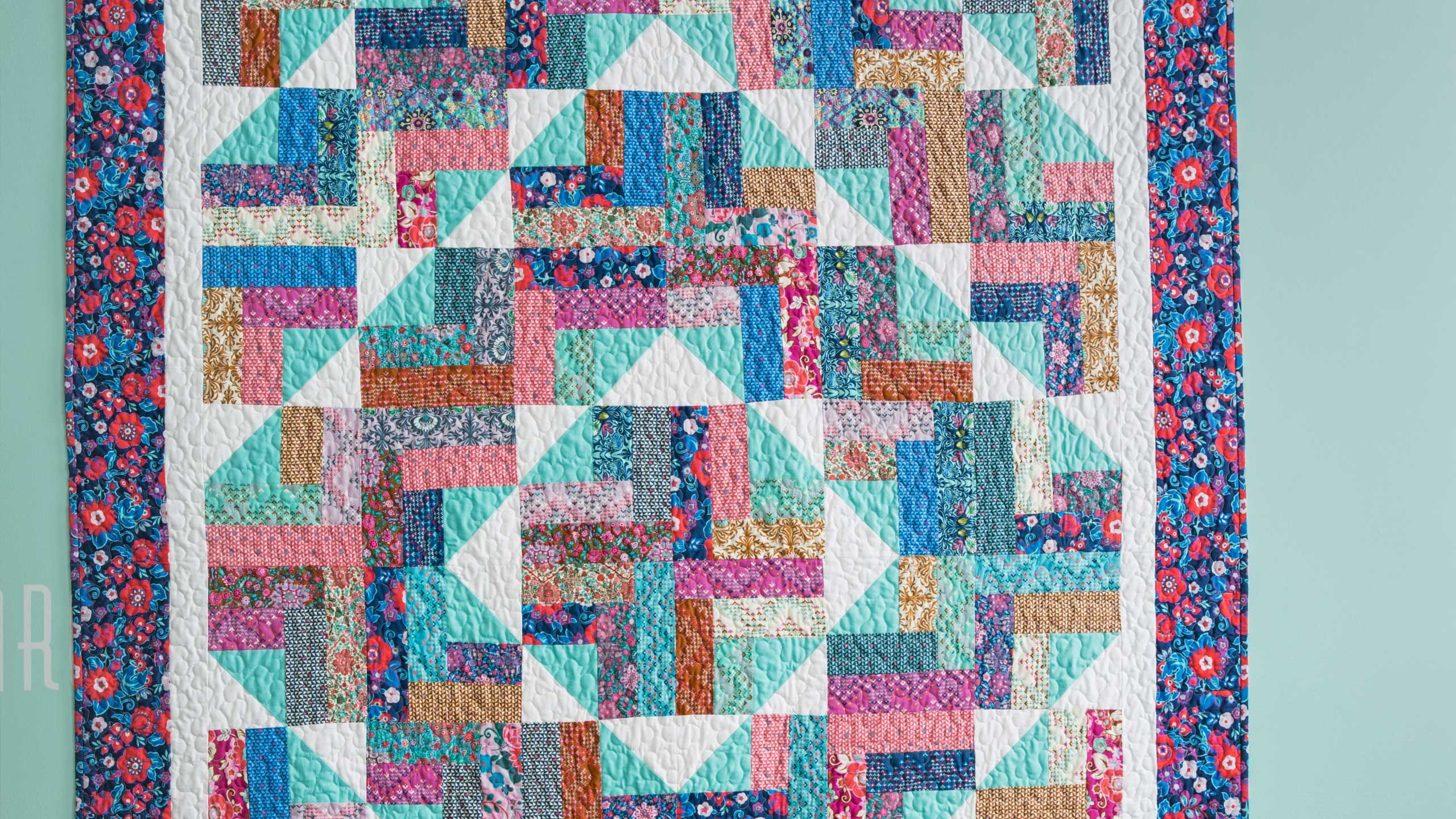 Many years ago jenny took her very first quilt class
