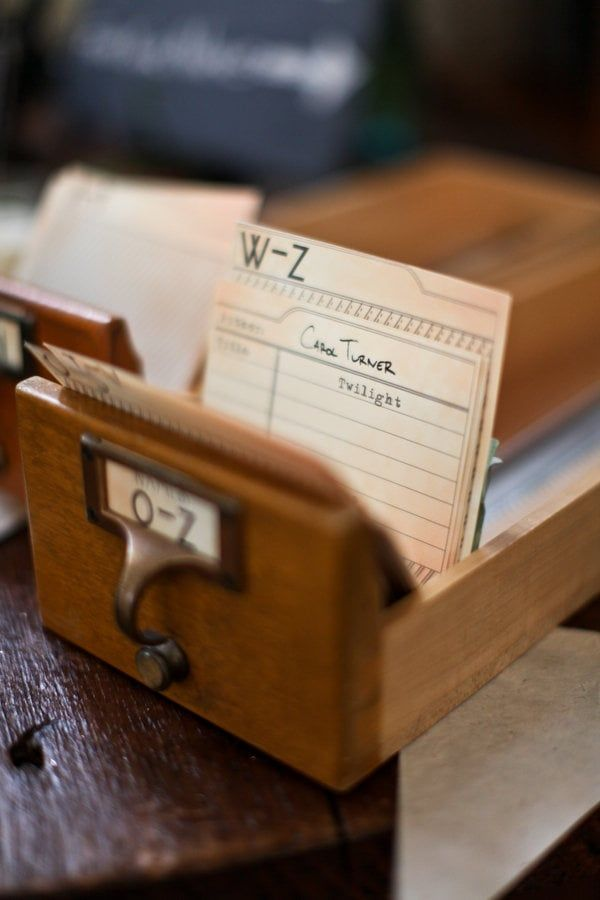 Library Card Catalog Table Numbers Wedding Diy Diy Wedding Table Library Card