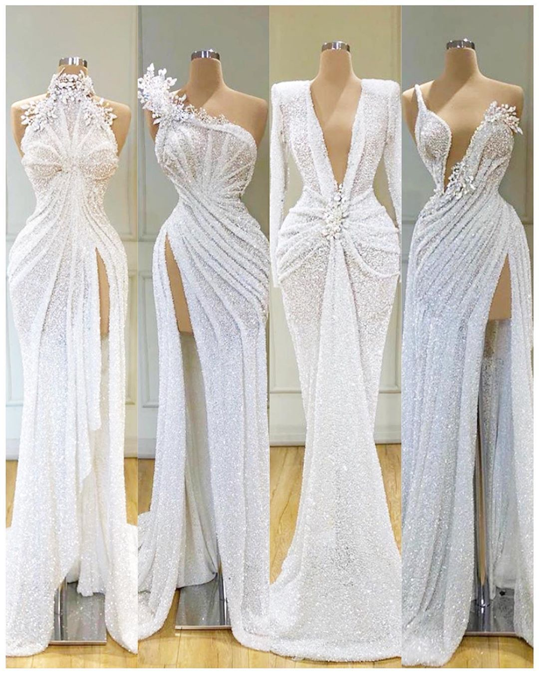 Would You Say Yes To These Dresses By Valdrinsahitiofficial From Left To Right 1 4 Which Is Your Fav Bride Event Dresses Fashion Dresses Dresses