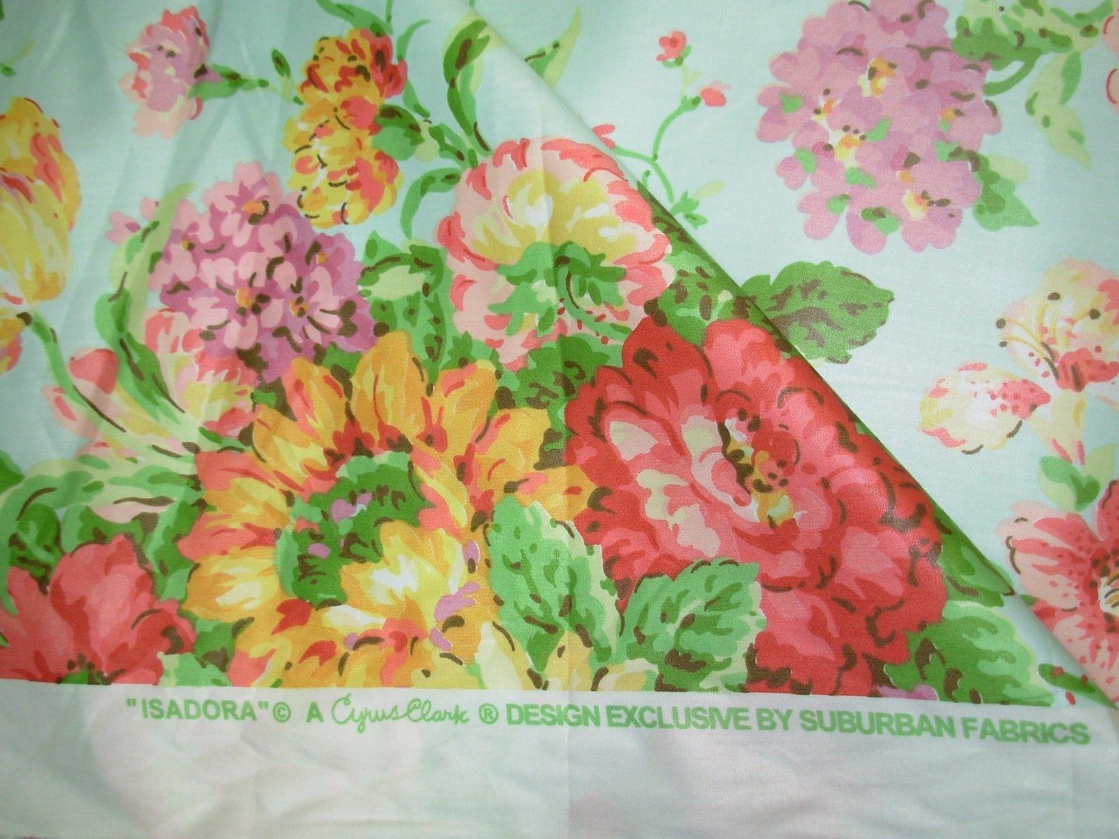 White beach print home decor fabric decorative seashell bty ebay -  18 Suburban Cyrus Clark Isadora Glazed Cotton Upholstery Fabric For