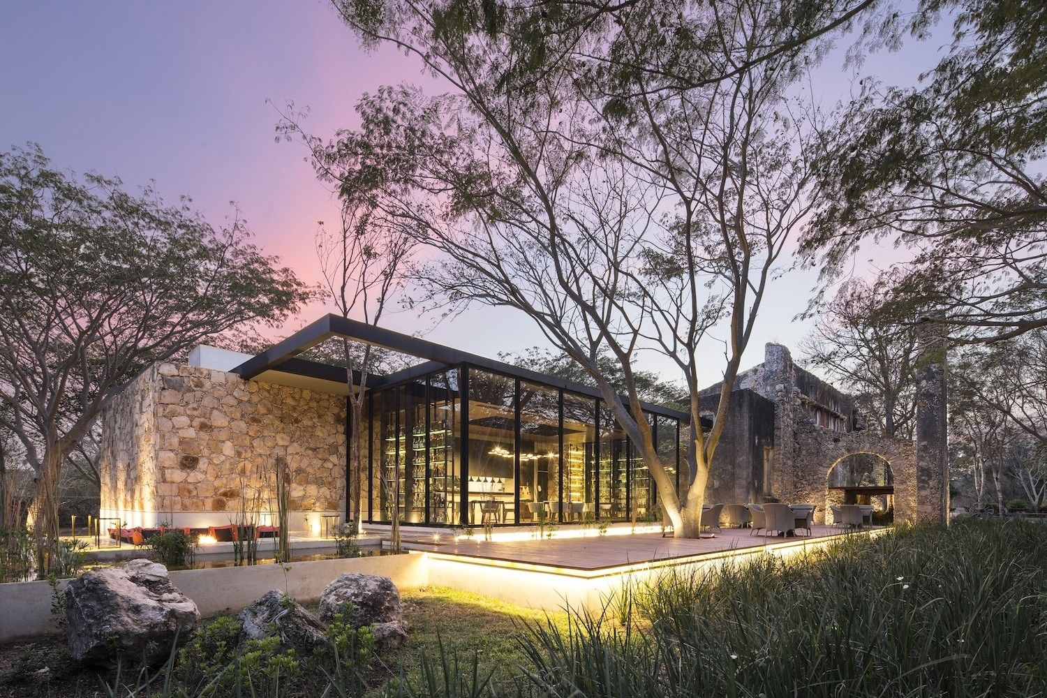 From farm to five star A spectacular restaurant project