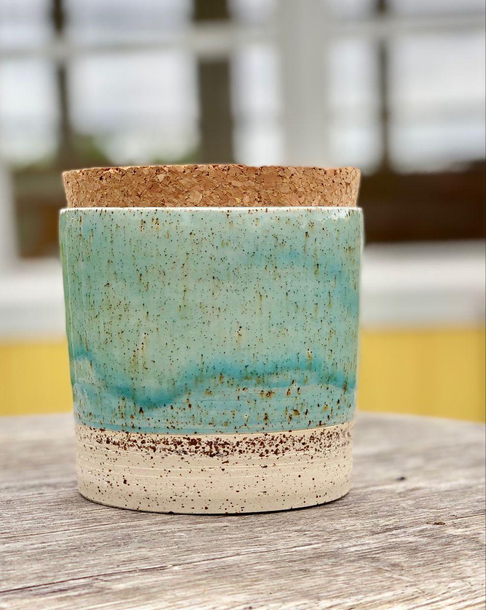 #handmadeceramic #pottery #jar #rustichomedecor #ceramics