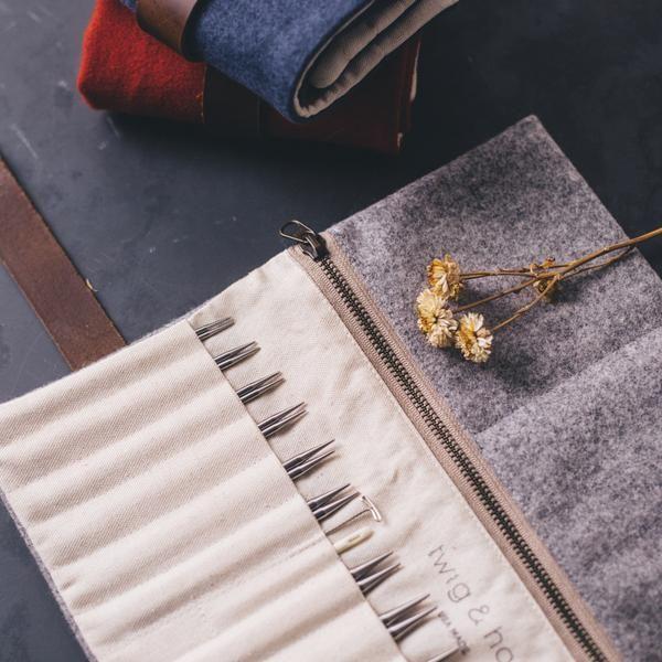 Wool Interchangeable Needle Case
