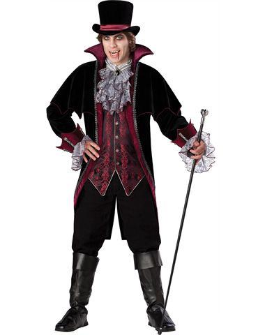 Versailles Vampire Adult Men\u0027s Costume - Victorian Vampire Cosplay - cool halloween costume ideas for guys