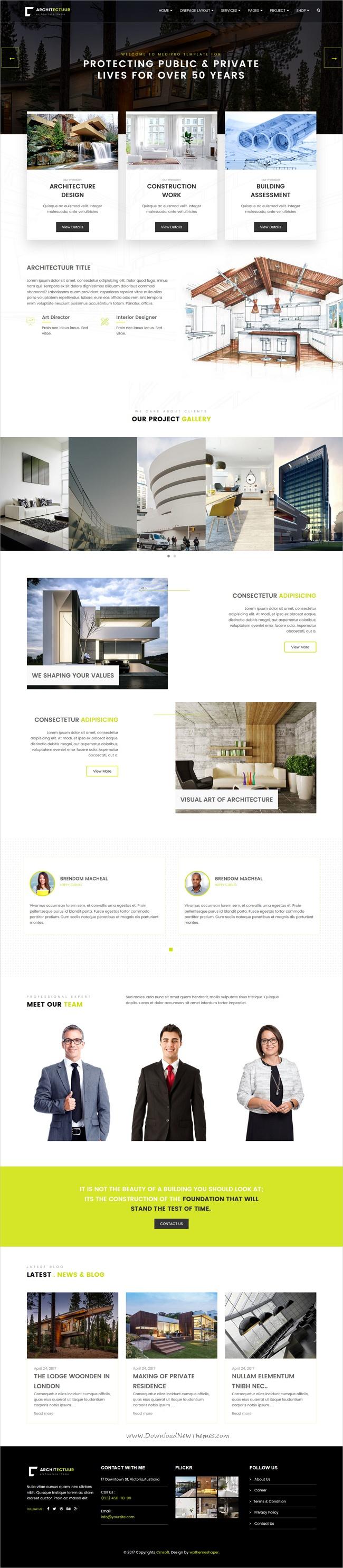 Architectuur Interior Design Decor Architecture Business HTML
