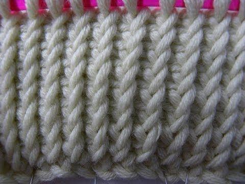 Tunesisch Häkeln Verdrehter Strickstich Point Au Crochet