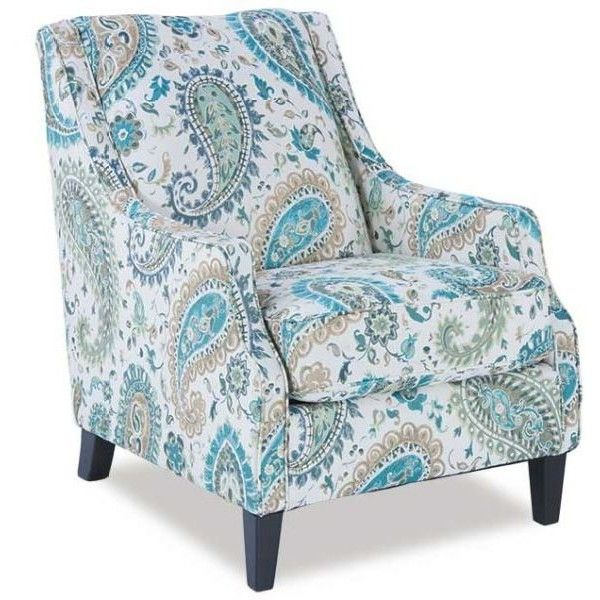 Merveilleux Lochian Paisley Accent Chair ($449) ❤ Liked On Polyvore Featuring Home,  Furniture, Chairs, Accent Chairs, Blue Chair, Blue Accent Chair, Paisley  Chair And ...