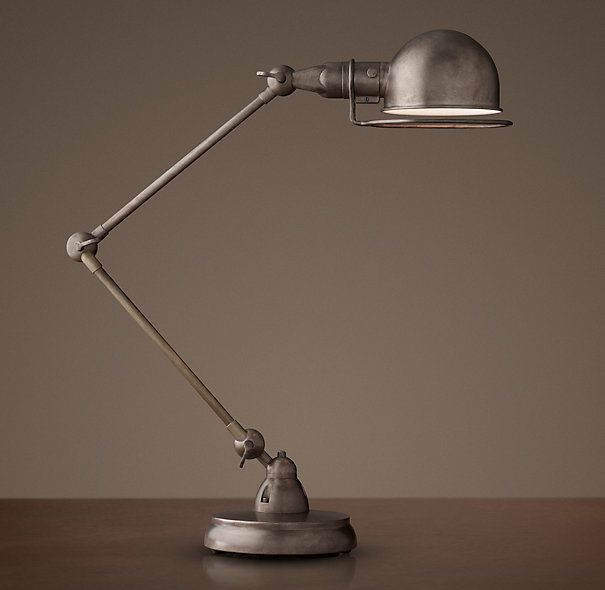 Atelier task table lamp patina nickel 259 319 special 229 atelier task table lamp aloadofball Gallery