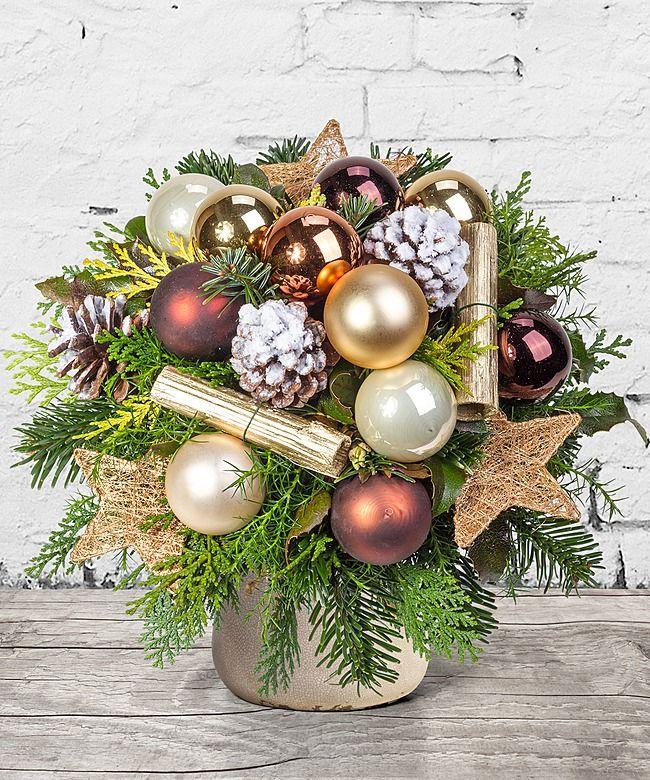 Goldene Zeiten  Dekoracje witeczne  Weihnachtsstrau