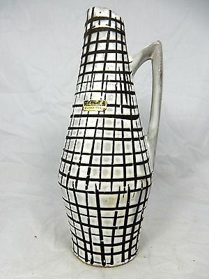 Beautiful glazed 60´s design Scheurich Keramik pottery vase 271 - 22 | eBay