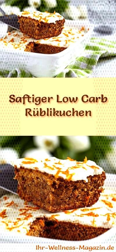 Fast, juicy low carb turnip cake - recipe without sugar -  Recipe for a quick, juicy low-carb turni