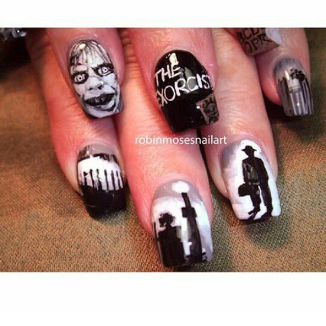 These Horror Movie Manicures Will Make You Pumped For Halloween