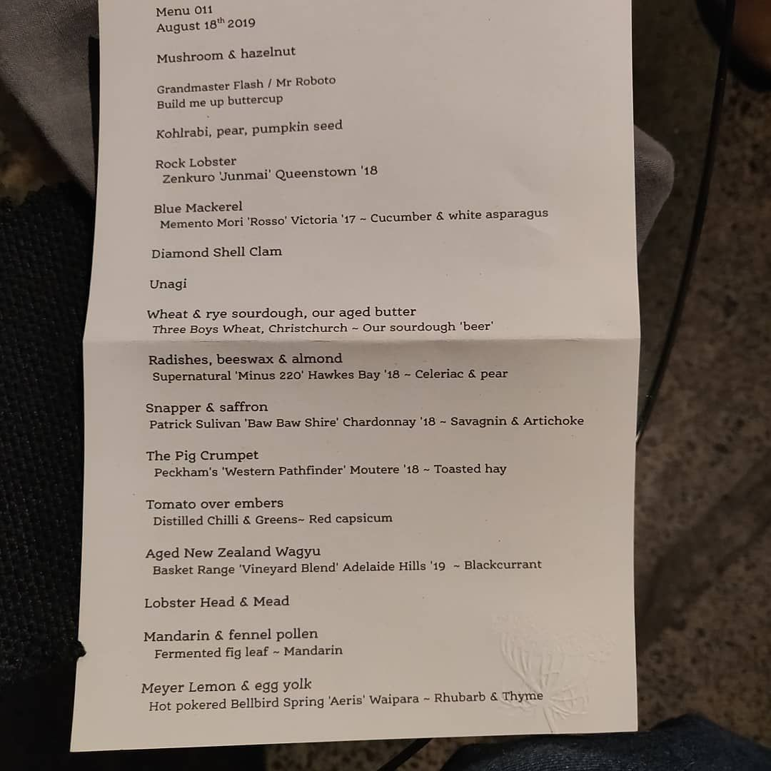 Amazing meal at Pasture last night with Anneliese, four friends & a visiting Australian celebrity chef. The restaurant only seats 6 but we squeezed him in. Just a measly 16 courses with matching wines, sakes and other interesting beverages. Stunning & unforgettable