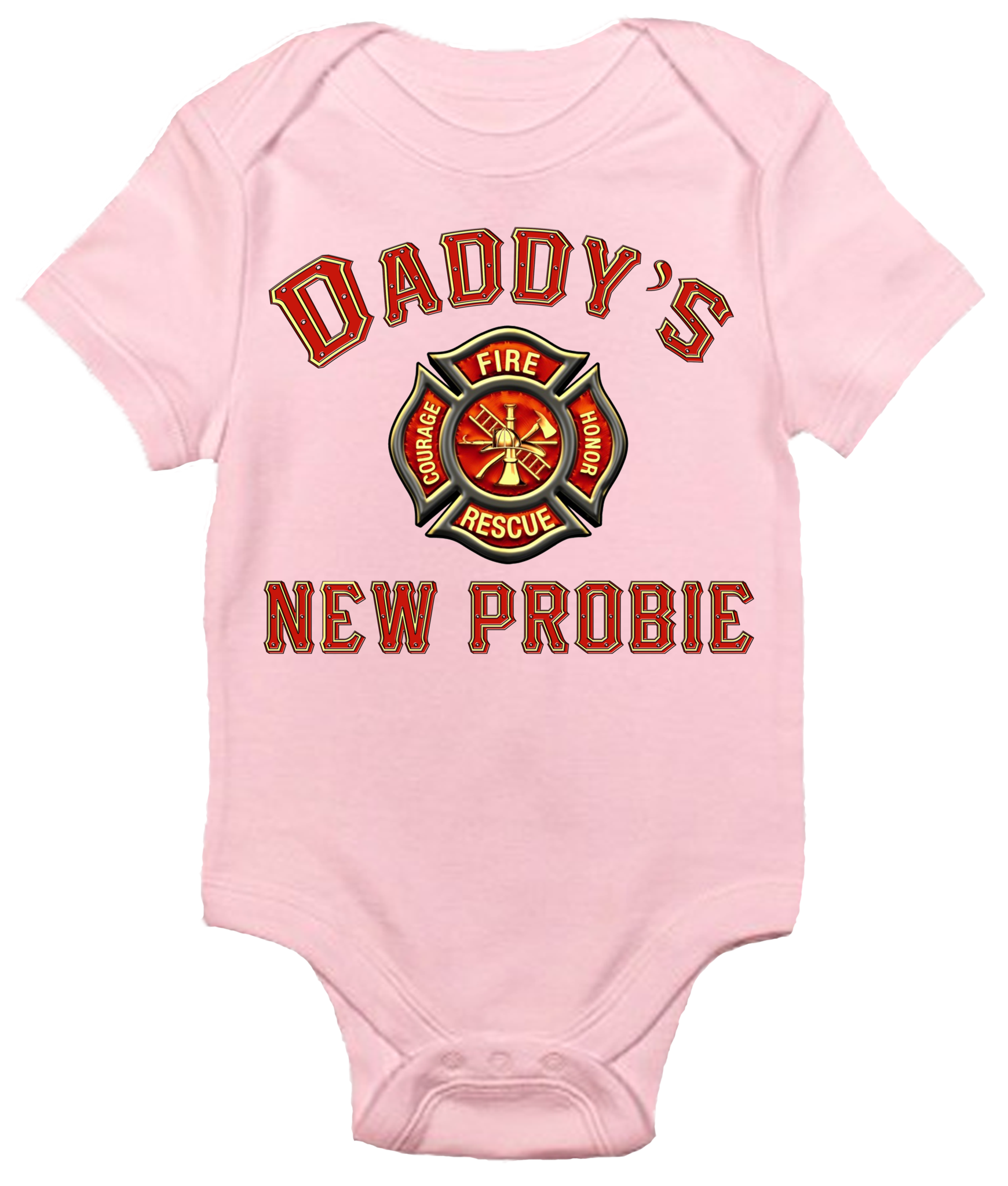 Fire Fighter Fire Romper Novelty Themed Baby Grow Fun FIREMAN FUTURE