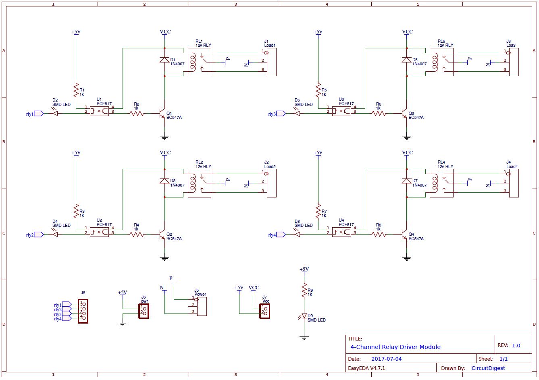 medium resolution of dual relay driver board circuit schematic circuit diagram wiring relay board wiring diagrams
