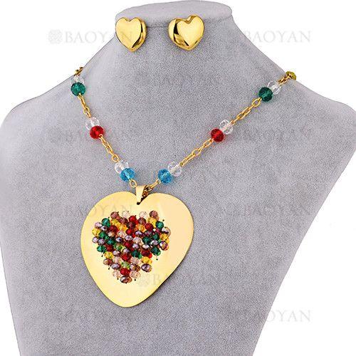 Gargantilla Collar De Corazón-Muchos Colores
