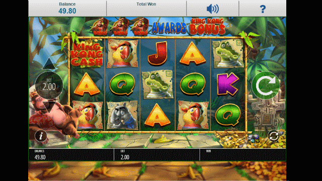 King kong free slots harrahs comps