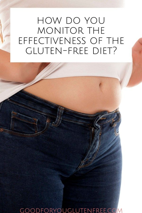 How do you monitor the effectiveness of the gluten-free ...
