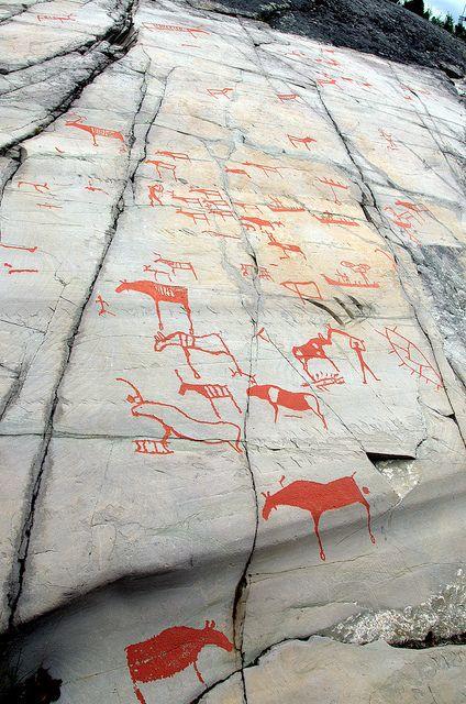 Alta finnmark quot fylke norway rock carvings norse
