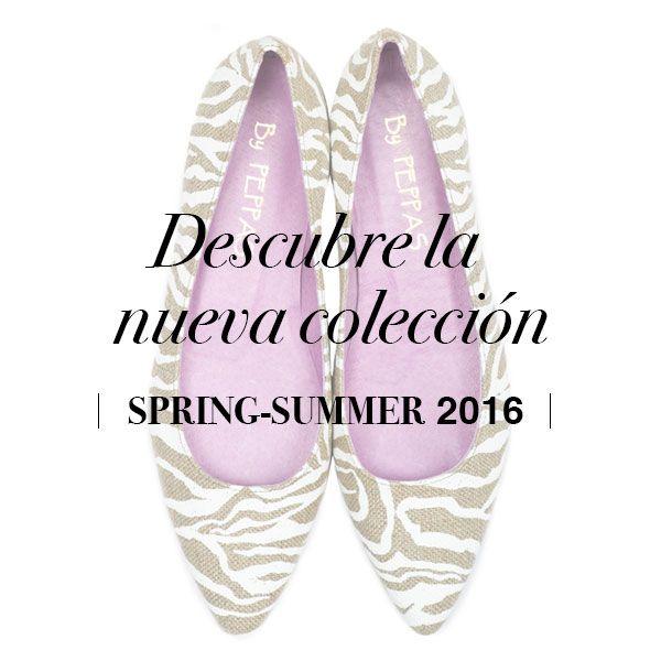 a1ac8b34ff2 Nueva colección PRIMAVERA-VERANO 2016  bypeppas  bailarinas  coleccion   springsummer