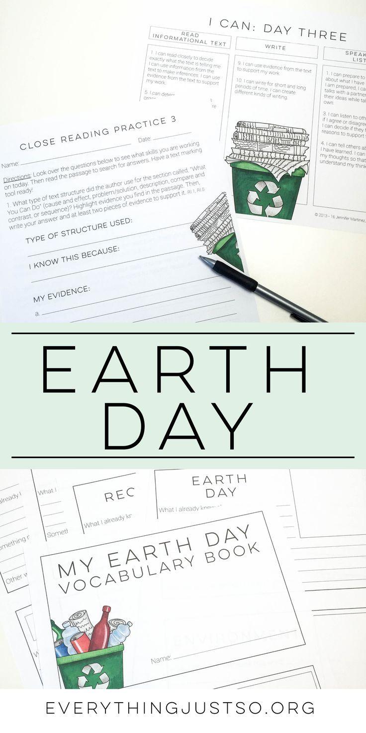 earth day 2014 theme