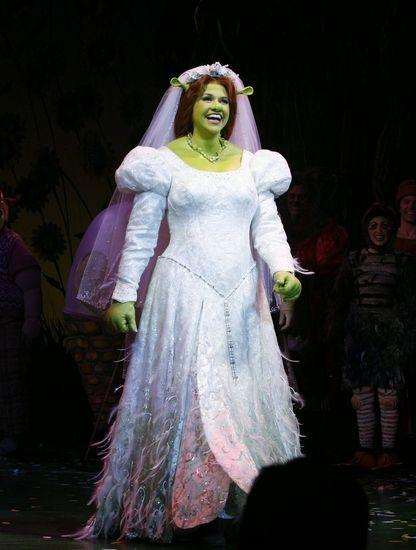 Photo Coverage Shrek The Musical Opening Night Curtain Call Shrek Shrek Wedding Fiona Shrek
