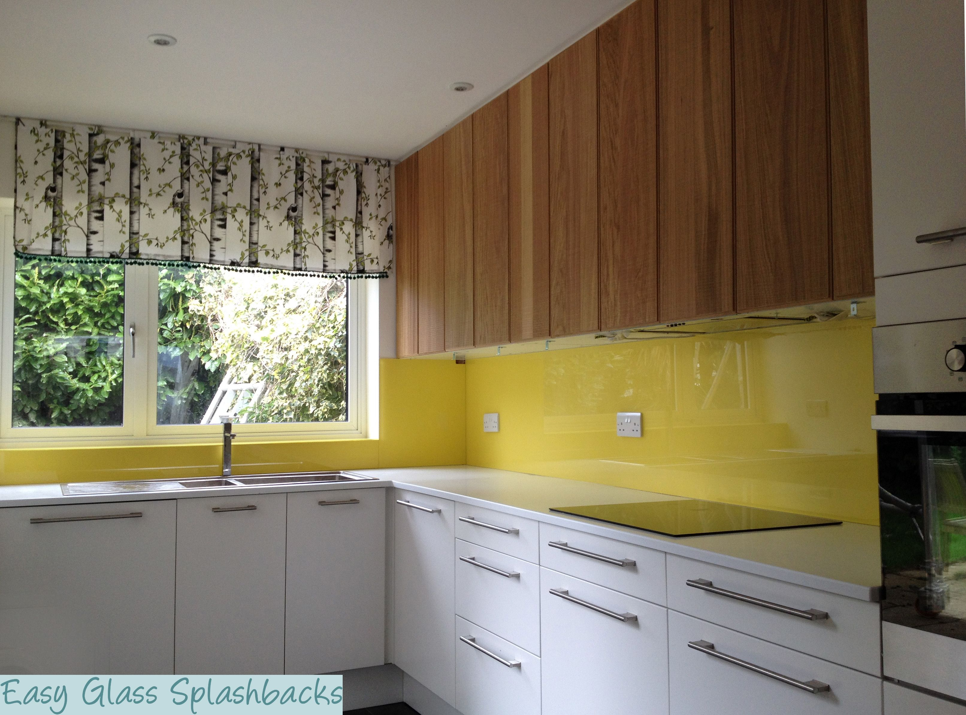Pin By Easy Glass Splashbacks On Yellow