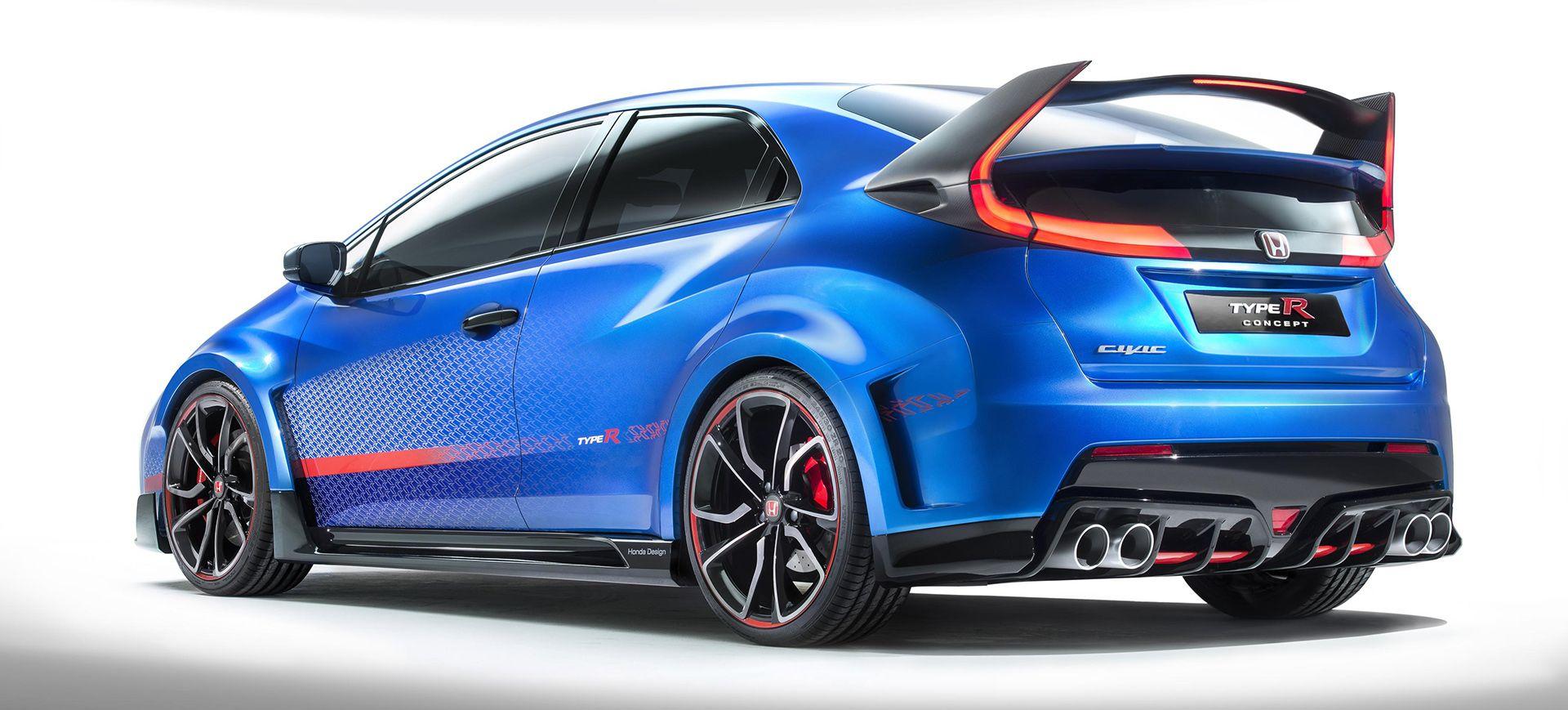 The 276 Hp Honda Civic Type R Will Be The Most Extreme Honda Ever Made Honda Civic Type R Honda Civic 2015 Honda Civic
