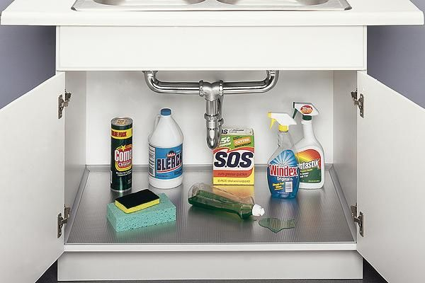 under sink liner aluminum under