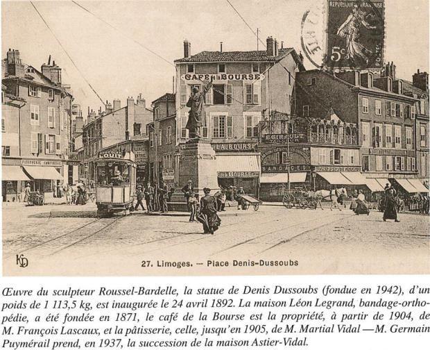 Limoges Autrefois Les Places Limoges Limousin Hotel De Ville