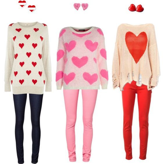 21 Cute Valentine S Day Outfits For Teen Girls School Outfits For