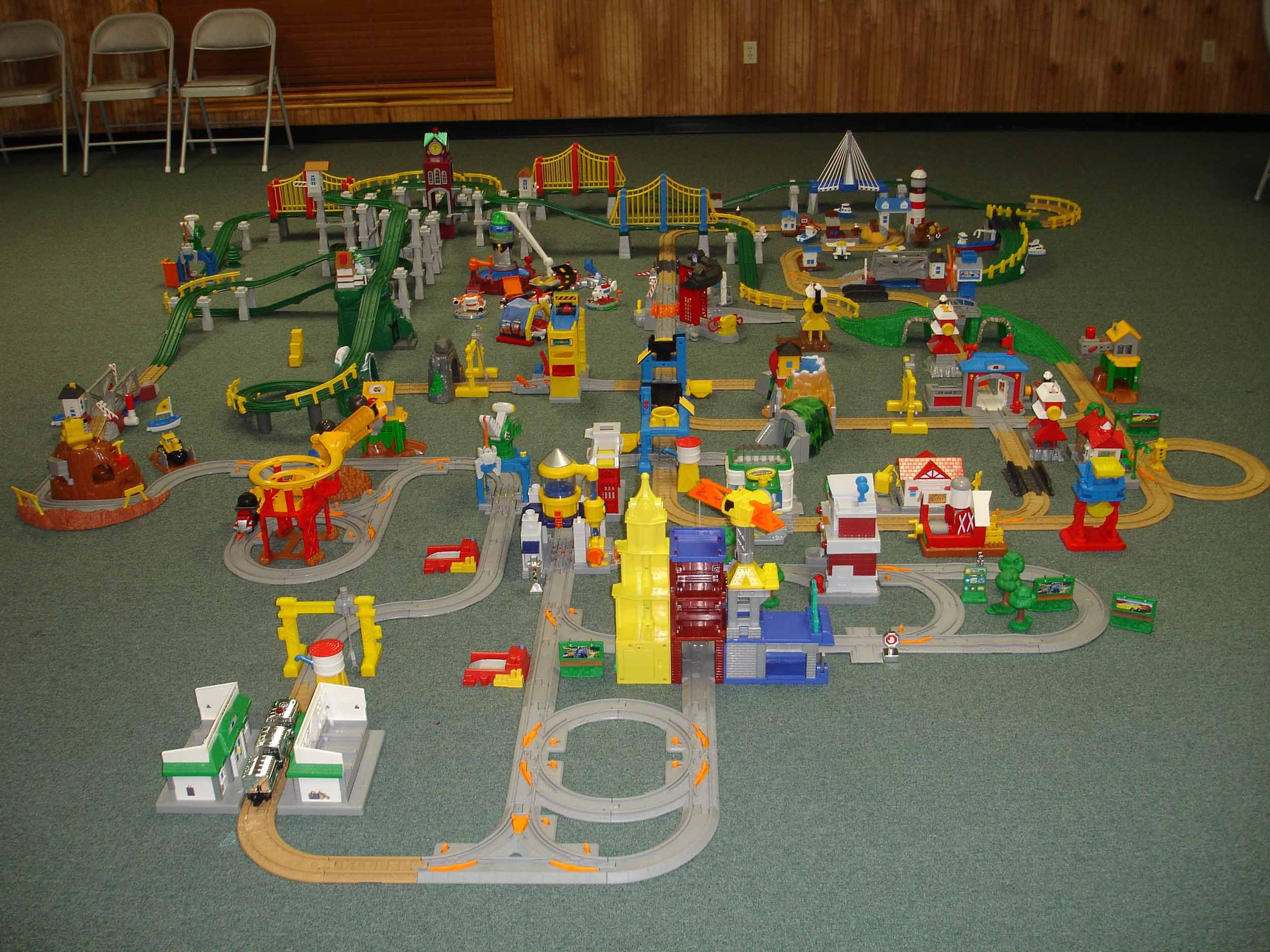 Fisher Price Geotrax Cars  Instructions