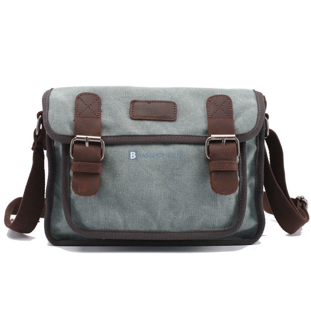 $67.15 Retro Shoulder Bags For MenLarge Canvas Bag
