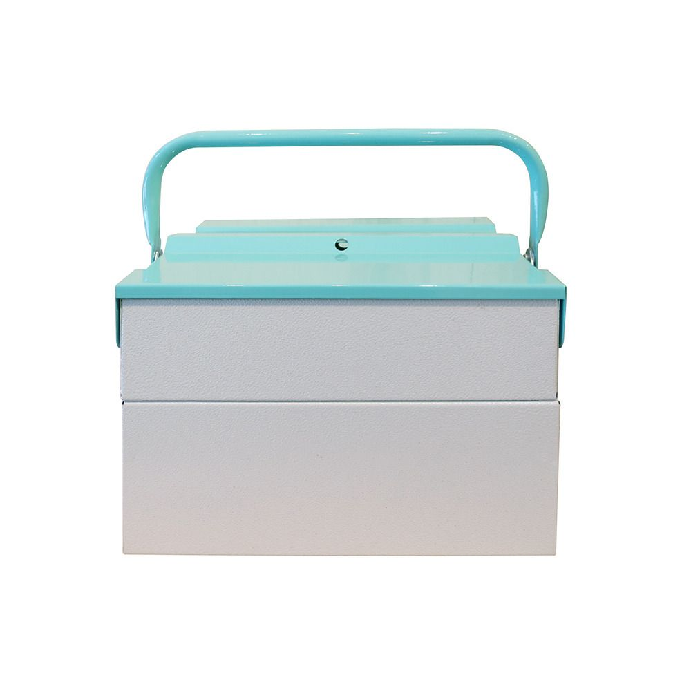 Tool Box - Light Grey with Mint - Top Hat - $100.00 - domino.com