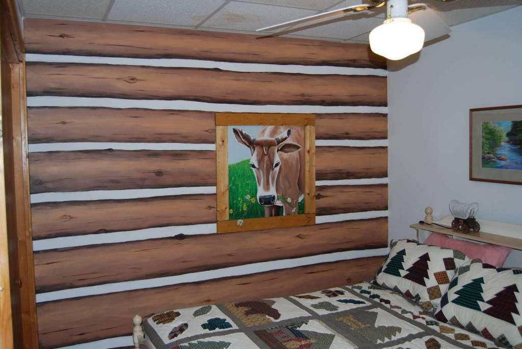 Faux Log Wall Panels Faux Wood Wall Wood Panel Walls Faux