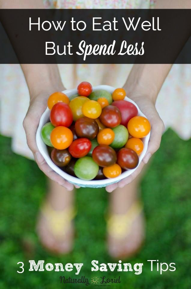 With the right tools and tips, you can eat well but spend less than your whole paycheck. Here are 3 money saving tips to get you started. #savemoney #realfood