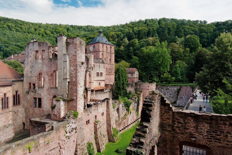 Heidelberg Castle The Epitome Of German Romanticism C Dzt Vermogen Und Bau Baden Wurttemberg Referat Staatliche Schl Heidelberg Travel Around The World Castle