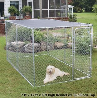 Use An Outdoor Dog Kennel As A Portable Pig Goat Chicken