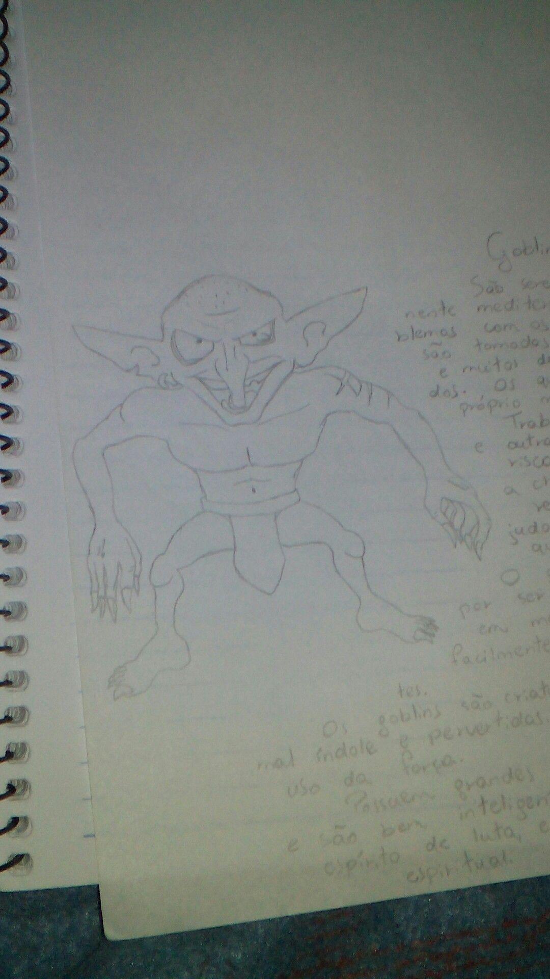 Goblin - esboço inicial