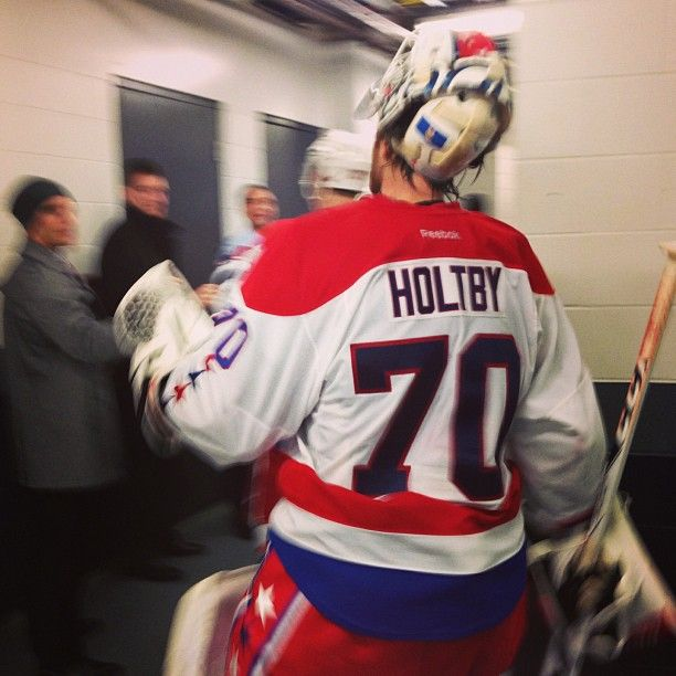 Washington Capitals On Instagram Caps Goalie Braden Holtby Comes Off The Ice After Recording His 4th Shutout Of The Washington Capitals Braden Holtby Goalie