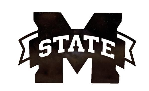 Iron Dawg Metal M State Logo Small For The Home Logos
