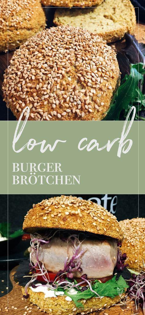 Low carb Burger Brötchen - Keto - Lowcarb Gerichte