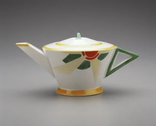 'Vogue' teapot made by Shelley Potteries, 1930 - 1933