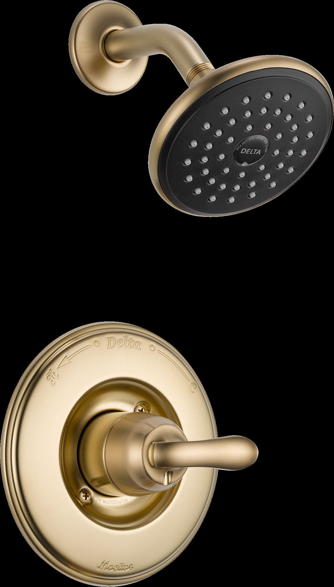 Linden Shower Faucet Trim with Lever Handles | Products | Pinterest ...