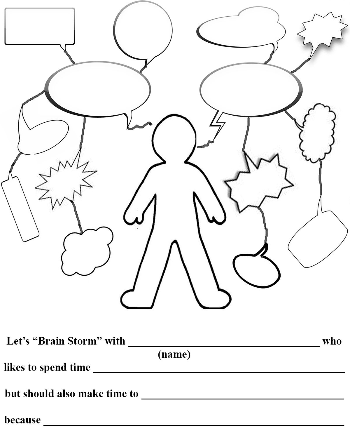 Planning Out Learning Web Worksheet Click For Blog