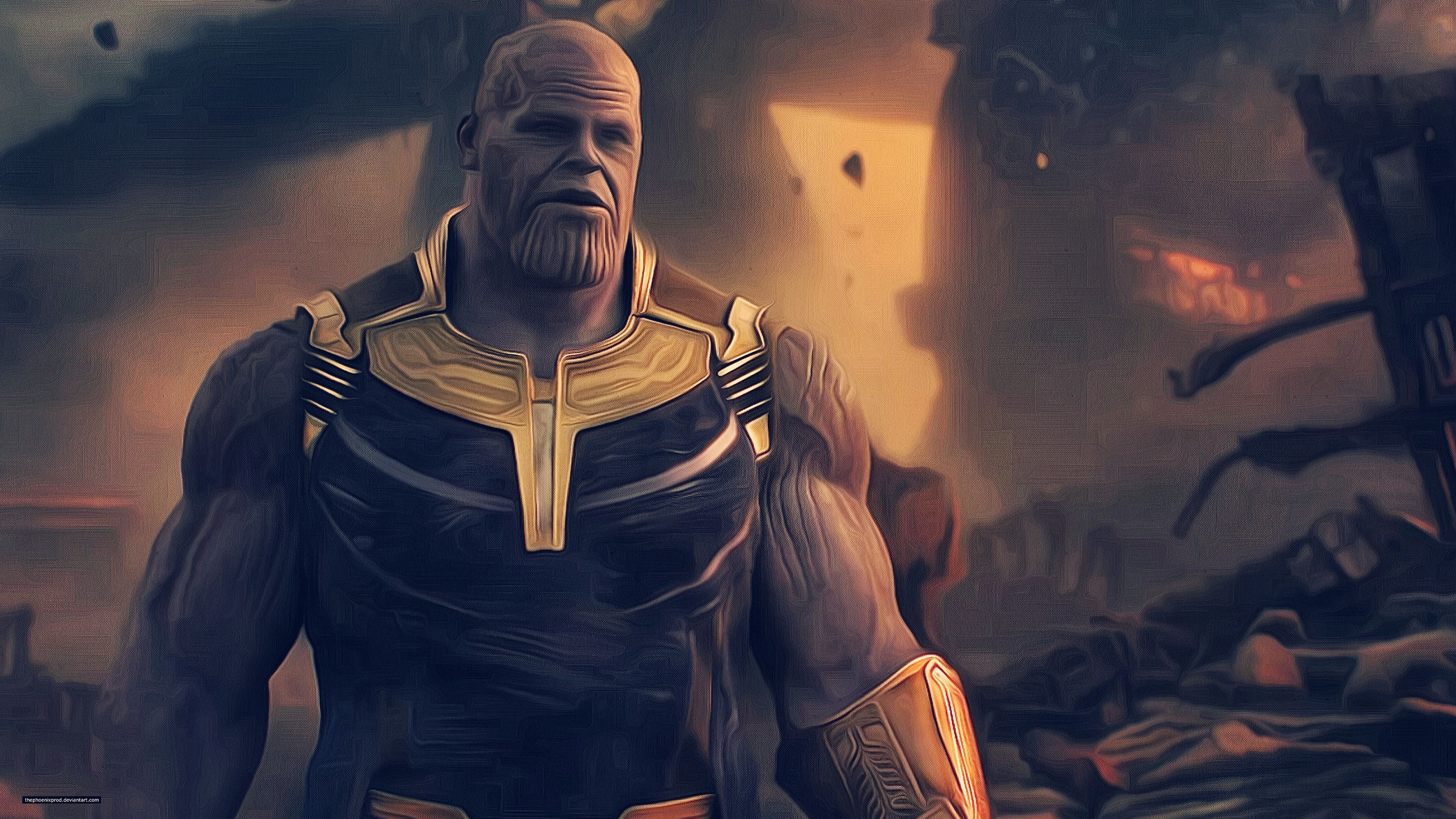 Wallpaper 4k Thanos Avengers Infinity War 4k Avengers Infinity